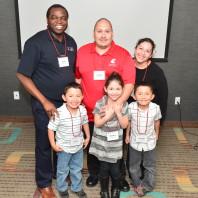 Carlos Anguiano and family