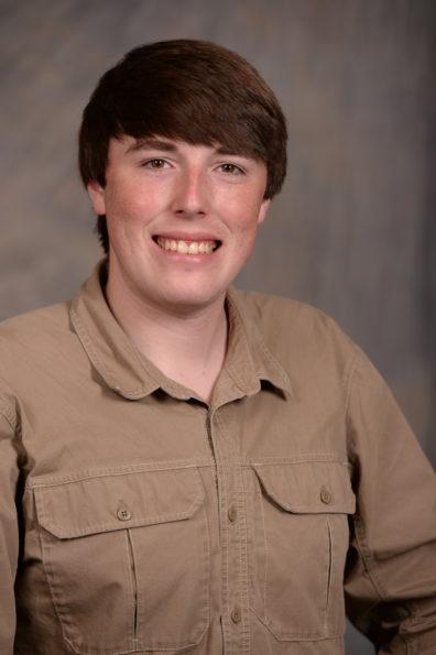 Graduate student Travis King