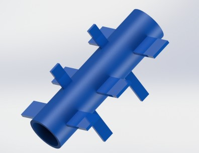 paneled roller