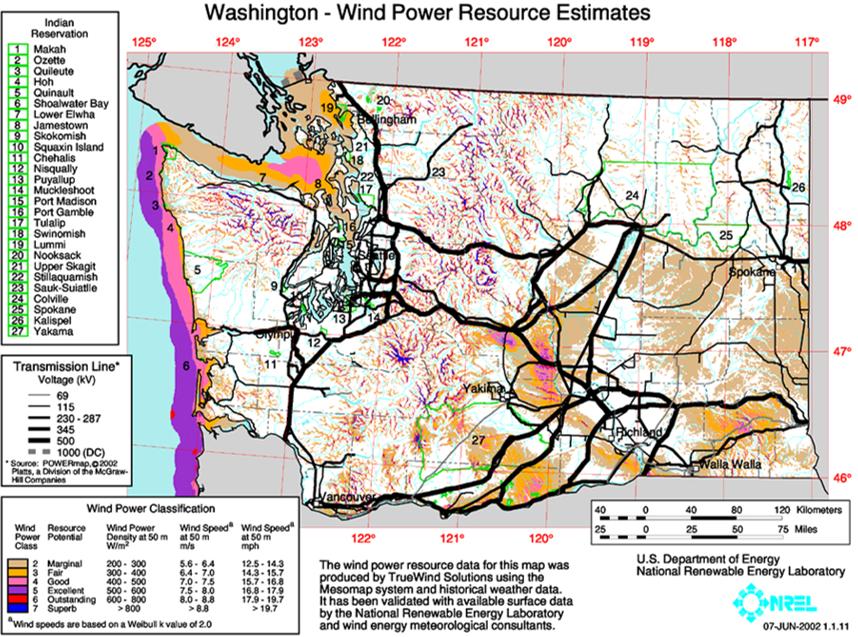 Washington Wind