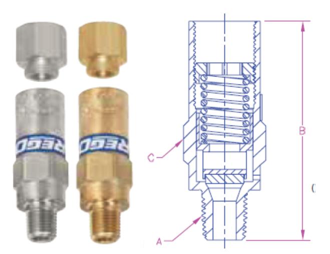 Rego 9400 valve