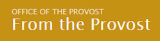 from-the-provost-logo