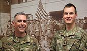 ROTC Heatherly, McNicholas