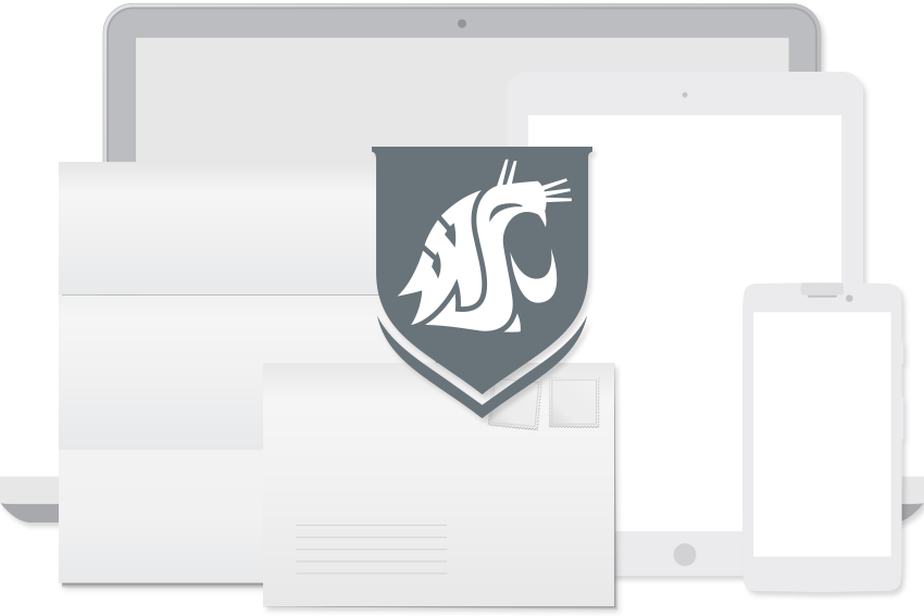 WSU device and stationery gray