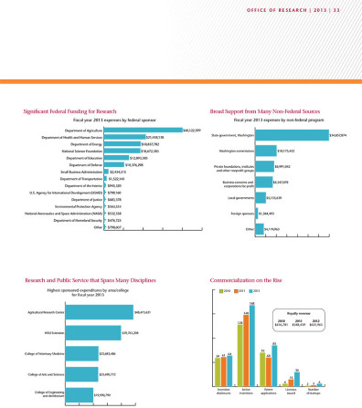 Research Annual Report Graphs