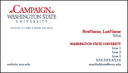 Campaign Stationery University Marketing And Communications