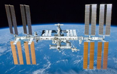 International Space Station. Source: Wikimedia Commons