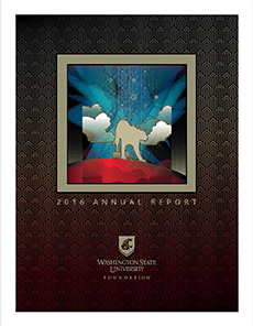 Image of WSU Foundation Annual Report PDF Cover