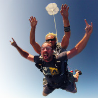 Gifts directed to department or college excellence funds help to enhance the undergraduate experience for students such as Ryan Evans ('12), shown here on a recent skydiving excursion. During his studies at WSU, Ryan participated in a student-led club and helped guide a project that gave him the skills necessary to reach new heights in his career.