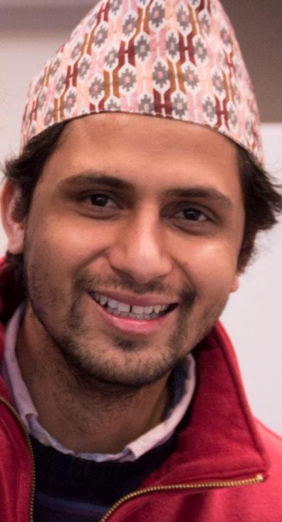 Raj Lamichhane ('18)