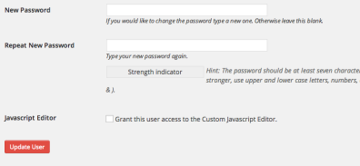 Assign a very strong password to the user. They will be able to change this upon logging in for the first time.