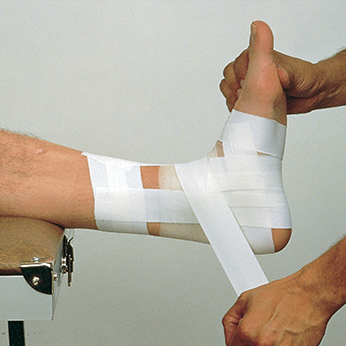 Taping Ankle