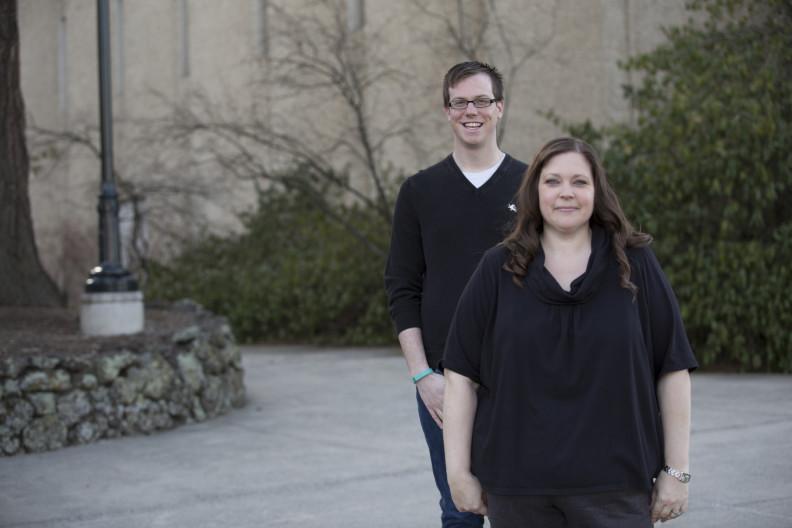 Matthew Jeffries and Ashley Herridge