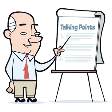 talking points 364x364