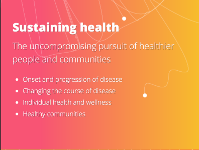 Grand Challenge Sustaining Health